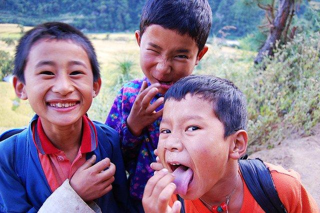 不丹廷布普那卡山谷上的Khamsum Yuelley寺